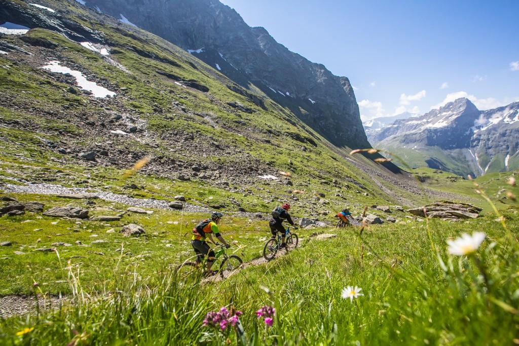 French Alps mountain Biking