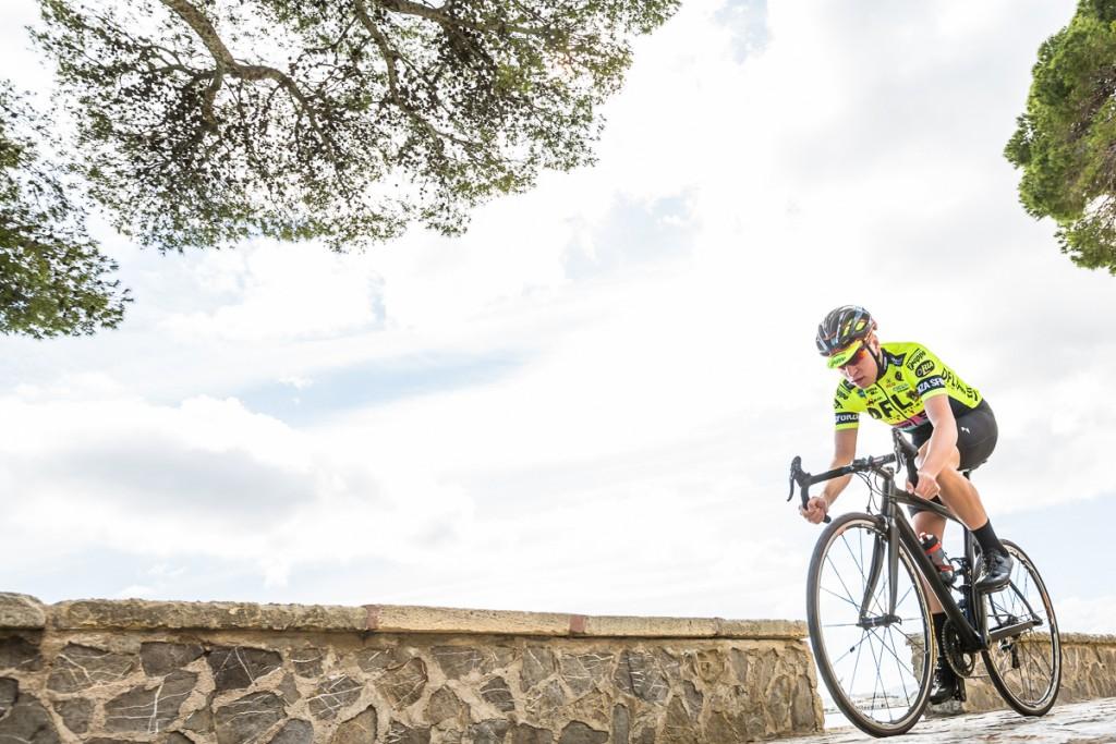 Jack Sadler in Morvelo cycle clothing