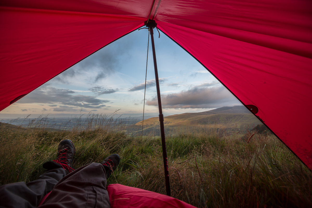 Alpkit, tarp, wild camping, brecon beacons, photography,